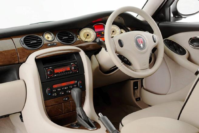 new supercarz: Rover 75 V8 interior pics